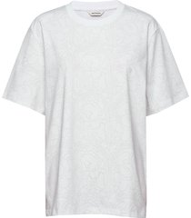 hilla pieni karuselli t-shirts & tops short-sleeved wit marimekko