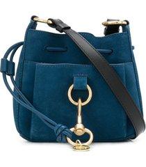 see by chloé bolsa tiracolo tony - azul