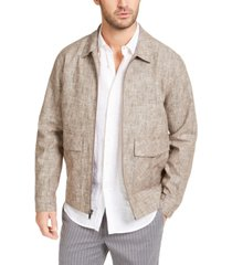 tasso elba men's vieste bomber jacket, created for macy's