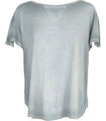 round neck micromodal t-shirt