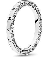 anel pandora signature caminhos brilhantes