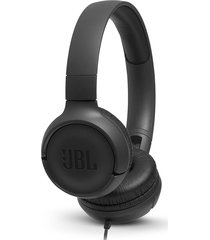 audifonos alámbricos jbl tune 500 jbl pure bass sound original negro