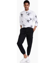 inc men's james twill cargo pants, created for macy's