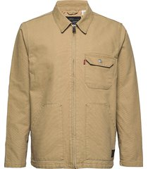 thermore waller worker harvest tunn jacka beige levi´s men