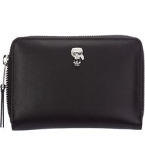 portafoglio portamonete donna in pelle bifold k/ikonik