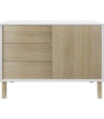 komoda dębowa lukkawoods elegant wood i