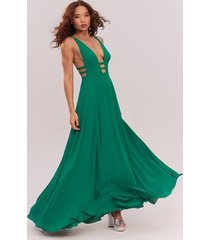 emerald green the liberty dress