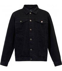 kurtka dżinsowa czarna