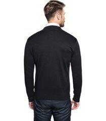 sweter colbert kr czarny