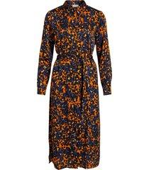 skjortklänning vijolie lenona l/s shirt dress