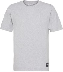 authentic cotton t-shirt gris calvin klein