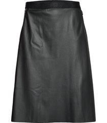 estella skirt knälång kjol svart wolford