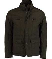 bos bright blue blue eric jacket 19301er12sb/368 olive groen