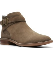 clarks collection women's camzin hale ankle booties women's shoes