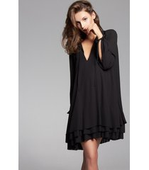 sukienka z wiązaniami