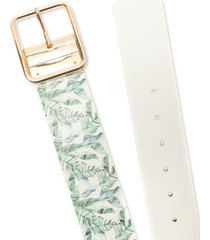 inc international concepts women's reversible stretch belt, created for macy's