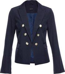 blazer in jersey (blu) - bodyflirt