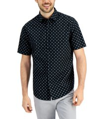 alfani men's delton woven shirt, created for macy's