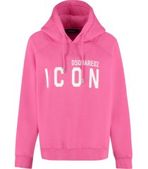 dsquared2 icon cotton hoodie