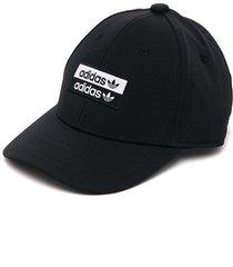 gorra negra-blanco adidas originals bball