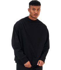 mens y-3 back script sweatshirt