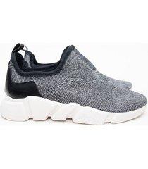 zapatilla gris euro confort
