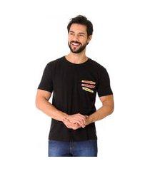 camiseta opera rock t-shirt preta