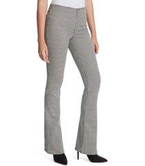 jessica simpson houndstooth flare-leg pants