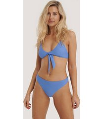 na-kd swimwear bikinitrosa i v-string - blue