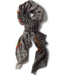 vintage printed scarf