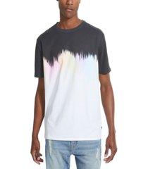 guess men's oversized ombre t-shirt