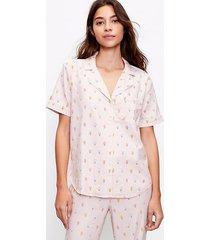 loft ice cream pajama top