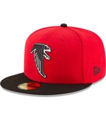 new era atlanta falcons team basic 59fifty fitted cap