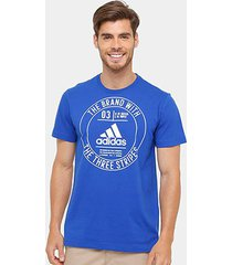 camiseta adidas badge masculina