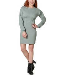 ultra flirt juniors' corset sweatshirt dress