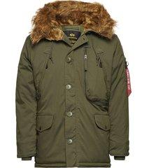 polar jacket parka jacka grön alpha industries