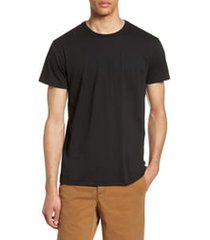 men's rag & bone classic base slim fit t-shirt, size medium - black