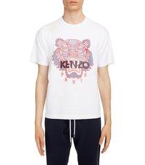 men's kenzo silicone scuba tiger t-shirt