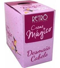creme mágico retrô cosméticos desmaia cabelo 20x30g