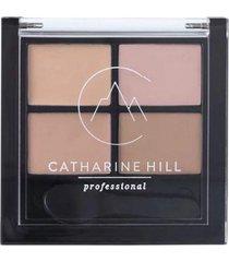 paleta catharine hill kit quarteto pele clara corretivo