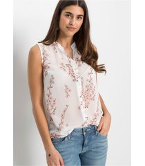 chiffon blouse met gerecycled polyester