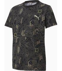 active sports t-shirt, zwart, maat 176 | puma