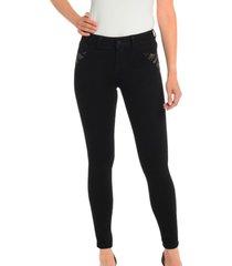 jeans pedreria negro bunnys