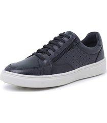sapatenis sandalo soft walk black