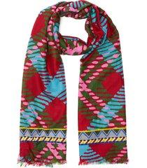 'diletto' plaid scarf