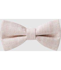 reiss boris - silk bow tie in pink, mens