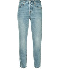 levi's wedge jeans - blue