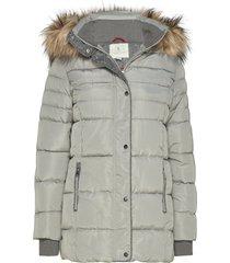 jacket outerwear heavy parka lange jas jas grijs brandtex