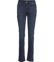 33 the celina high straight custom raka jeans blå denim hunter