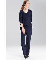 terry lounge pants sleepwear pajamas & loungewear, women's, size s, n natori